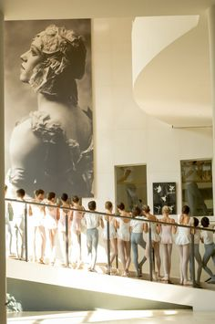 Paris Opera Ballet School - Nanterre  Photo © David Elofer