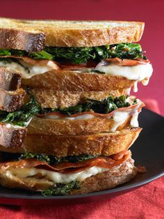 Mozzarella with Crispy Prosciutto and Broccoli Rabe | The Nest