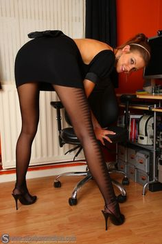 High.. Heels & Thigh High Stockings.    Soo Pretty!!!