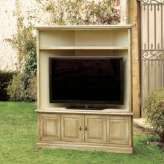San Marino Corner Media with Hutch   European-Inspired Home Furnishings   Ballard Designs