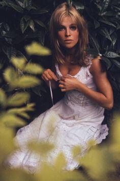 Juliie Christie in London, 1966, by David Hurn