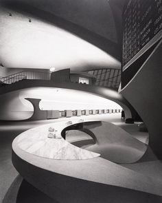 Ezra Stoller - TWA Terminal, JFK Airport, 1962