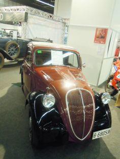 "Fiat 500 ""A"" - Topolino de 1938."