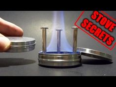 ▶ ULTRA Compact Pocket Stove - With Built-in Pot Stand! - YouTube