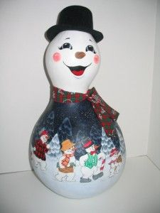 Free Gourd Patterns To Print | SNOWMAN PAINTING PATTERNS | Browse Patterns
