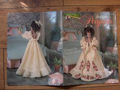 1997 crochet pattern Fashion Doll PEIGNOIR by GransTreasures