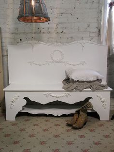 Painted Cottage Chic Shabby Hand Made Farmhouse by paintedcottages, $295.00