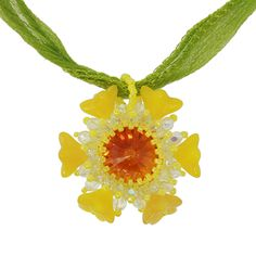 Daffodil Necklace | Fusion Beads Inspiration Gallery