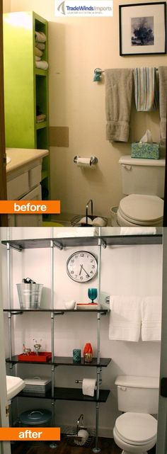 Before & After: A Modern Bathroom Makeover A Modern Bathroom remodeling project can be very beneficial to homeowners with décor from the 70's and 80's. If you're wondering how feasible a project like this can be, you're in luck. Depending on how extensive of a renovation you would like to undertake, an updated bathroom design may be in the horizon for your neglected room!