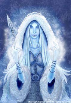 Skadi (Norse Goddess of the Winter...)