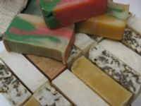 I am in the mood to make some more homemade soap! Maybe I will make for Christmas presents...I have not made any in a long time :-)