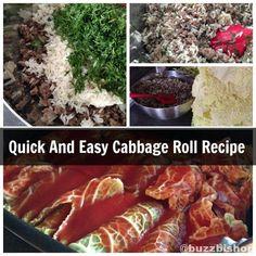 Ukranian Christmas Dinner Recipes: Borscht and Cabbage Rolls