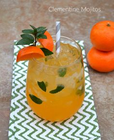 Clementine Mojitos: