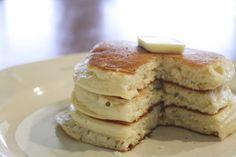 secret on making good fluffy pancakes