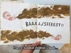 Swedish Kids Have Some Strange Literature