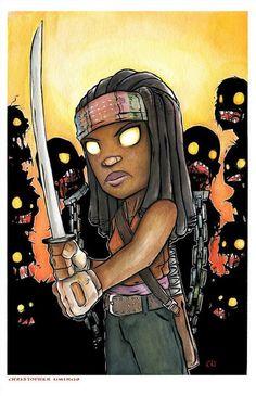 Michonne #TWD #WalkingDead