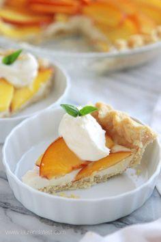 Fresh Peaches and Cream Pie (from Lauren's Latest)