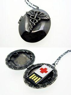 USB medical alert