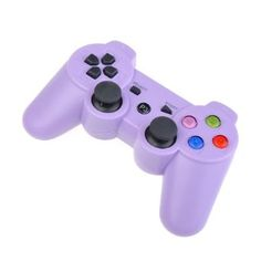 #lavender #purple #ps3 #controller ... Amazon.com: Purple Wireless Bluetooth Six Axis Dualshock Game Controller for Sony PS3: Video Games