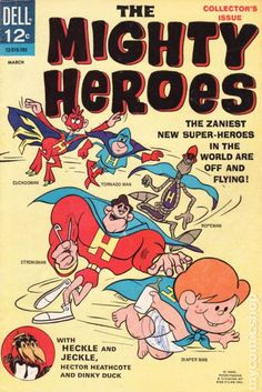 MIGHTY HEROES 1, SILVER AGE DELL COMICS