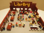 The Library in Lego Form