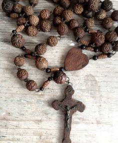 ROSARY: Priest/Nuns Rosary FleaingFrance Brocante Society