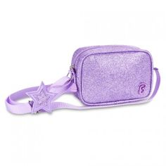 This purple sparkalicious purse by Bixbee is the perfect, fun girly accessory for your little girl to carry her everyday essentials!  This sparkly little number is perfect for an iPhone and everyday keepsakes.  Features an adjustable over-the-shoulder str
