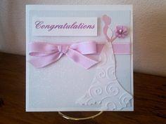 Lovely wedding cards handmade!