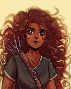 (((someone tell me why Hazel has arrows on her back..)))>>maybe she caries them for Frank, but that would be very inconvenient...<<< yes it would... but I still love this picture!!