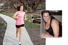 Get Inspired to Get Fit! Before and After images with stories of how they got there.