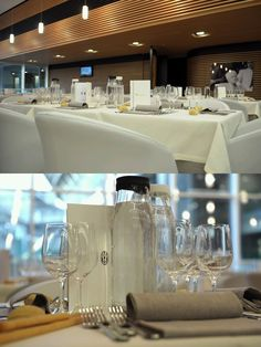 Menu is proud sponsors of Water Carafes for the Juventus Football Club VIP Lounge in Turin, Italy.