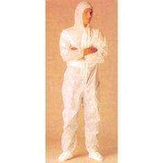 Mono PP higiénico. Mono con capucha. Cintura, puños y tobillos elásticos.   Polipropileno.  http://www.janfer.com/es/prendas-desechables/406-mono-desechable-pp-higienico.html