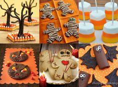#Halloweenkids #Halloweentreats #Socute    Magic: Easy Halloween food ideas - desserts