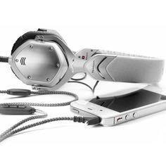 v-moda crossfade m-80 headphone in white pearl.
