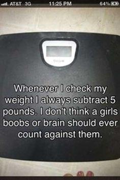So legitimately true! lol