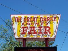 The Great Darke County Fair. I love this place. I have so many memories with so many people there