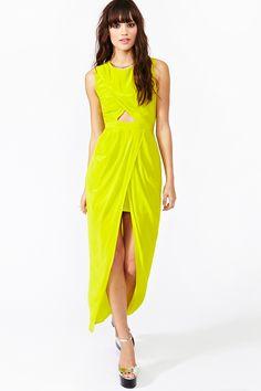 Ibiza Silk Wrap Dress
