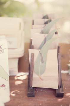 Favors at a Woodland Party