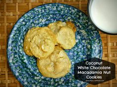 Matt's Cookies - Coconut White Chocolate Macadamia Nut Cookies.  These are so good and so easy!