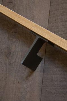 Stair rail detail.