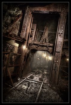 View inside No.9 Coal Mine in Landsford PA