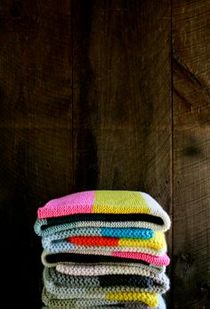 Super EasyBlankets! - The Purl Bee - Knitting Crochet Sewing Embroidery Crafts Patterns and Ideas!