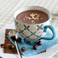 Chocolate Hazelnut Morning Coffee [oops, sorry. I mean] Smoothie