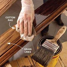 Stain the professional way