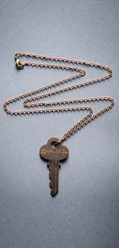 Compassion Giving Keys Necklace