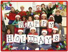 Class Christmas Card.  Love this idea!!