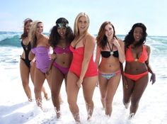 Curvy Models Rock their Swimwear!