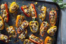 Sweet Mini Bell Pepper Poppers Recipe - Kraft Recipes