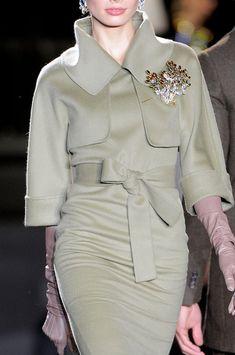 fashion weeks, party dresses, fashion clothes, dsquar, style, suit, fall 2013, glove, 40s fashion