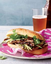 Grilled-Pork Banh Mi Recipe from Food & Wine